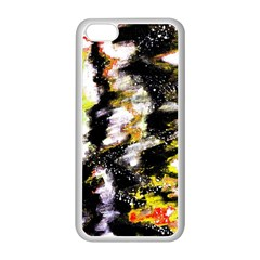 Canvas Acrylic Digital Design Art Apple Iphone 5c Seamless Case (white)
