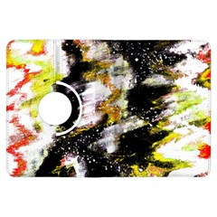 Canvas Acrylic Digital Design Art Kindle Fire Hdx Flip 360 Case