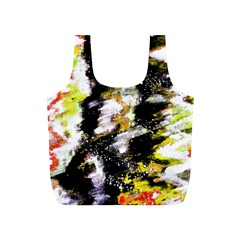 Canvas Acrylic Digital Design Art Full Print Recycle Bags (s)