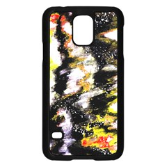 Canvas Acrylic Digital Design Art Samsung Galaxy S5 Case (black)