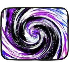 Canvas Acrylic Digital Design Double Sided Fleece Blanket (mini)