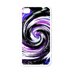 Canvas Acrylic Digital Design Apple Iphone 4 Case (white)