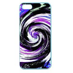 Canvas Acrylic Digital Design Apple Seamless Iphone 5 Case (color)