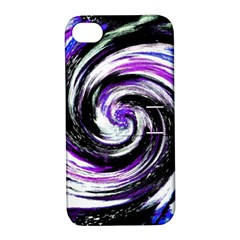 Canvas Acrylic Digital Design Apple Iphone 4/4s Hardshell Case With Stand