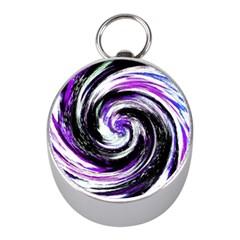 Canvas Acrylic Digital Design Mini Silver Compasses
