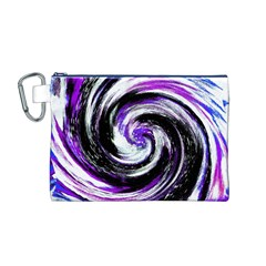 Canvas Acrylic Digital Design Canvas Cosmetic Bag (m)