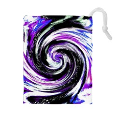 Canvas Acrylic Digital Design Drawstring Pouches (extra Large)