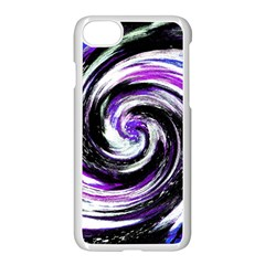 Canvas Acrylic Digital Design Apple Iphone 7 Seamless Case (white)