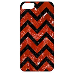 Chevron9 Black Marble & Red Marble (r) Apple Iphone 5 Classic Hardshell Case