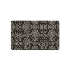 Line Geometry Pattern Geometric Magnet (name Card)