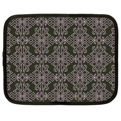Line Geometry Pattern Geometric Netbook Case (xl)
