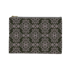 Line Geometry Pattern Geometric Cosmetic Bag (large)