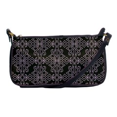 Line Geometry Pattern Geometric Shoulder Clutch Bags