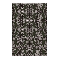 Line Geometry Pattern Geometric Shower Curtain 48  X 72  (small)