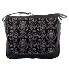 Line Geometry Pattern Geometric Messenger Bags