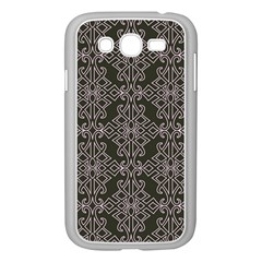 Line Geometry Pattern Geometric Samsung Galaxy Grand Duos I9082 Case (white)