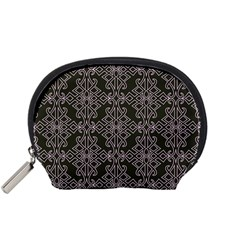Line Geometry Pattern Geometric Accessory Pouches (small)
