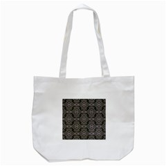 Line Geometry Pattern Geometric Tote Bag (white)