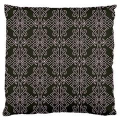 Line Geometry Pattern Geometric Large Flano Cushion Case (one Side)