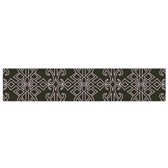 Line Geometry Pattern Geometric Flano Scarf (small)