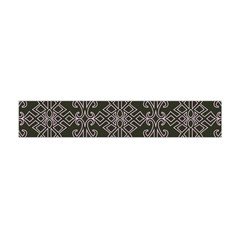 Line Geometry Pattern Geometric Flano Scarf (Mini)
