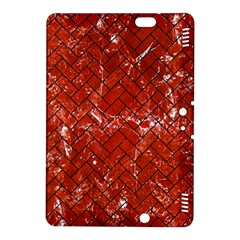 Brick2 Black Marble & Red Marble (r) Kindle Fire Hdx 8 9  Hardshell Case