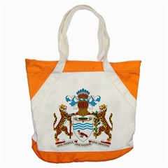 Coat Of Arms Of Guyana Accent Tote Bag