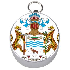Coat Of Arms Of Guyana Silver Compasses