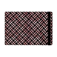 Woven2 Black Marble & Red & White Marble Apple Ipad Mini 2 Flip Case