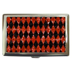Diamond1 Black Marble & Red Marble Cigarette Money Case