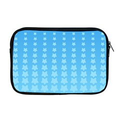 Blue Stars Background Line Apple Macbook Pro 17  Zipper Case