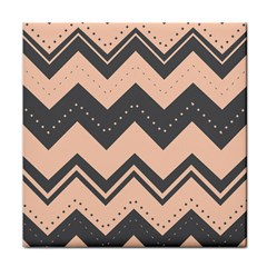 Chevron Ideas Gray Colors Combination Tile Coasters