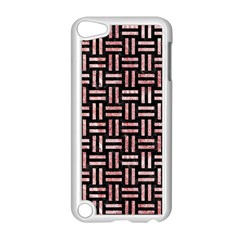 Woven1 Black Marble & Red & White Marble Apple Ipod Touch 5 Case (white)