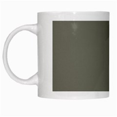 Minimalism Grey Background White Mugs