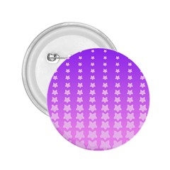 Purple And Pink Stars Line 2 25  Buttons