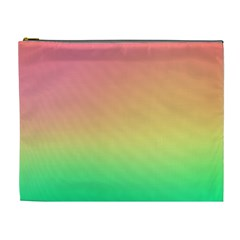 The Walls Pink Green Yellow Cosmetic Bag (xl)