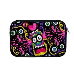 Monster Face Mask Patten Cartoons Apple Macbook Pro 13  Zipper Case