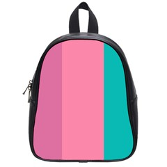 Pink Blue Three Color School Bags (small)