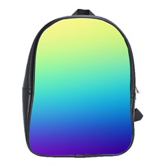 Purple Blue Green School Bags(large)