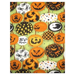 Print Halloween Drawstring Bag (large)