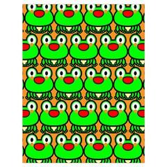 Sitfrog Orange Green Frog Drawstring Bag (large)