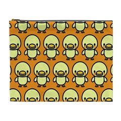Small Duck Yellow Cosmetic Bag (xl)