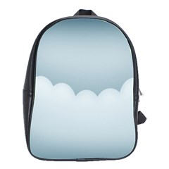 Soft Pure Backgrounds School Bags(large)
