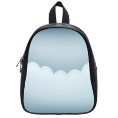 Soft Pure Backgrounds School Bags (small)