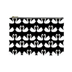 Swan Animals Cosmetic Bag (large)
