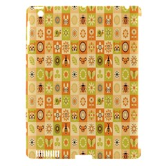 Texture Background Stripes Color Animals Apple Ipad 3/4 Hardshell Case (compatible With Smart Cover)
