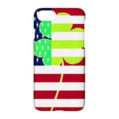 Usa Ireland American Flag Shamrock Irish Funny St Patrick Country Flag  Apple Iphone 7 Hardshell Case