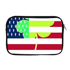 Usa Ireland American Flag Shamrock Irish Funny St Patrick Country Flag  Apple Macbook Pro 17  Zipper Case