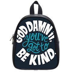 Be Kind School Bags (small)