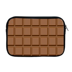 Chocolate Apple Macbook Pro 17  Zipper Case